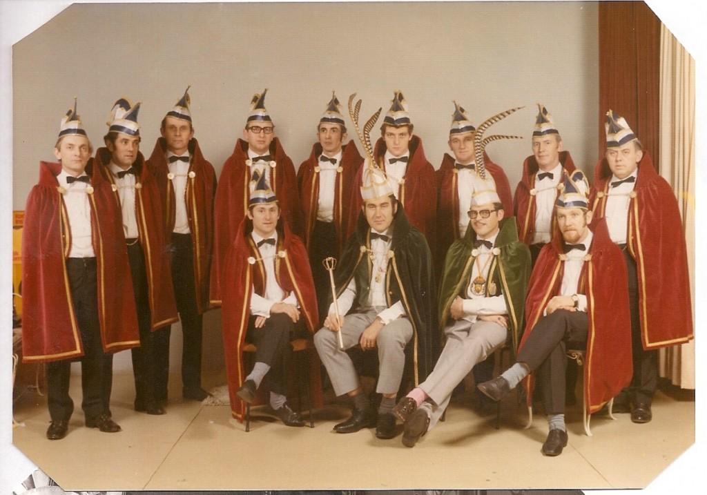 De eerste Raad van Elf 1971-1972