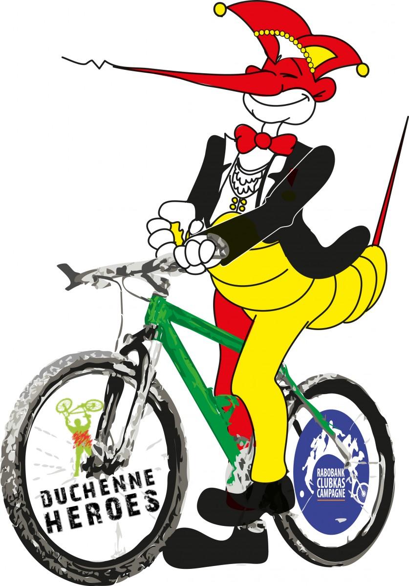 Mug Fiets Duchenne 2013