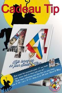 poster verkoop boek cadeau tip sinterklaas (zonder hier te koop)